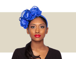 ISABELLA FASCINATOR - Cobalt Blue