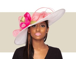 LIA KENTUCKY DERBY HAT - Multi-Color