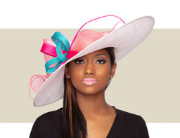 LIA KENTUCKY DERBY HAT - Brights