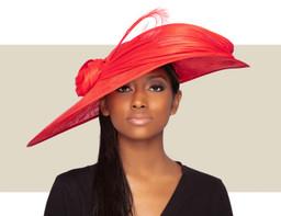 MERTA HAT - Red