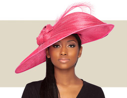 MERTA HAT - Barbie Pink
