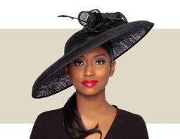 BARBARA HAT - Black