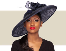 BARBARA HAT - Navy Blue