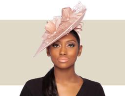 SYLVANIA HAT - Blush Pink