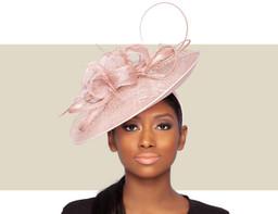 MINA HAT - Blush Pink