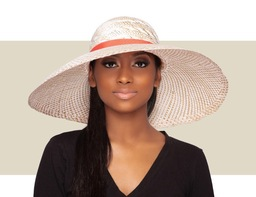 WOMENS LARGE SUN HAT - Multi