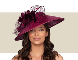 BORDEAUX HAT - Burgundy