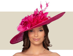 AVIGNON HAT - Fuchsia