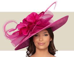 LISBON HAT - Fuchsia