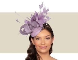 ESTELLE WOMENS HEADPIECE - Lilac Purple