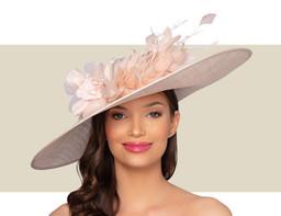 AVIGNON HAT - Blush Pink