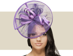 CIRCLE FASCINATOR - Purple