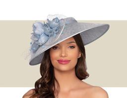 BORDEAUX HAT - Powder Blue