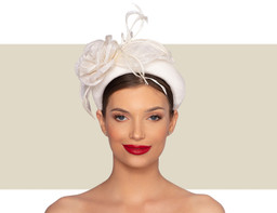 ZOLA WOMENS FANCY HEADBAND - Ivory