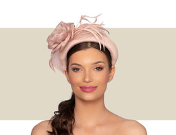 ZOLA WOMENS FANCY HEADBAND - Blush Pink