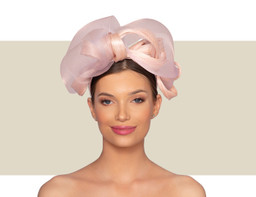 ADELINA FASCINATOR - Blush Pink