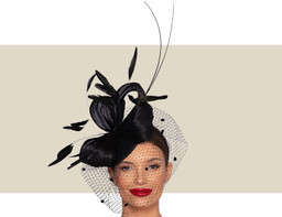 MALAKOFF HEADPIECE - Black