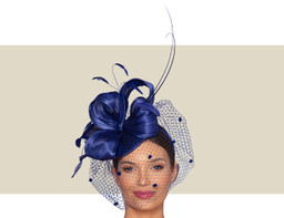 MALAKOFF HEADPIECE - Royal Blue