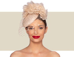 VALENTINA COCKTAIL HAT - Champagne