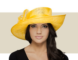 COLE Upbrim Church Hat - Yellow