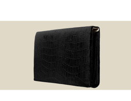 ENVELOPE CLUTCH - Black Velvet