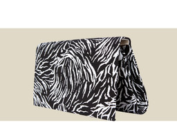 ENVELOPE CLUTCH - Zebra