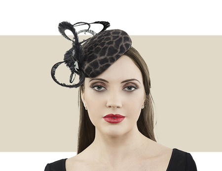 Jane Taylor London Fay pillbox hat for winter