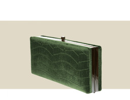 LARGE BOX CLUTCH - Green