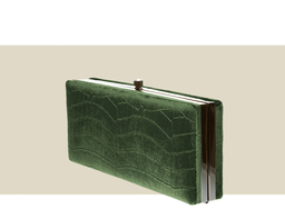 LARGE BOX CLUTCH - Green
