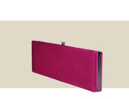 LARGE BOX CLUTCH - Dark Pink