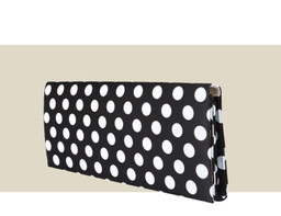LARGE ENVELOPE CLUTCH - Polkadot