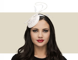 PEARL HEADPIECE - Ivory