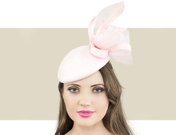 SCULPTURED BERET - Pale Pink