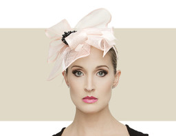 TALLULA - Light Pink with Black