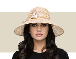 THE EILEEN - SUN HAT - Light Gold
