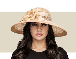 THE JULIETTE - SUN HAT - Gold