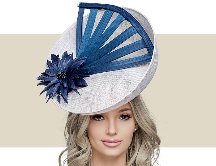 cb4b1504045bd RENO - Light Silver with Navy - Gold Coast Couture