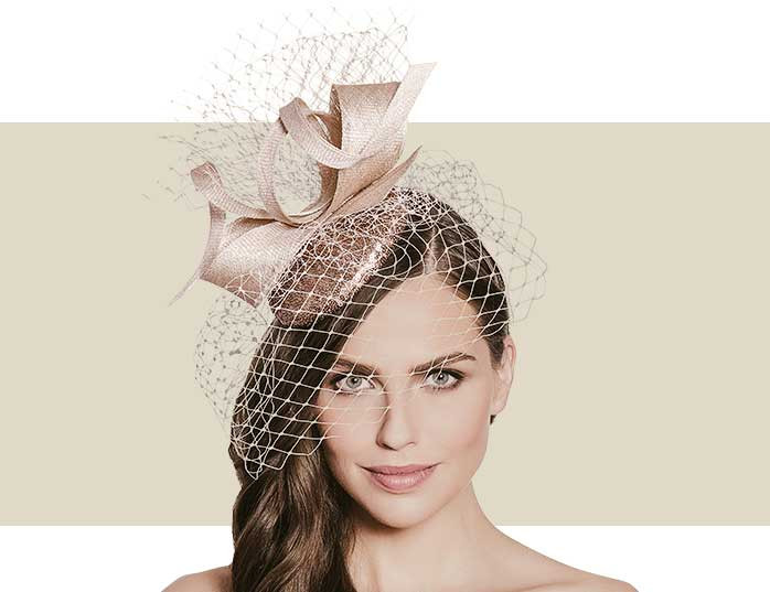 Gold Sequin Headpiece with Veiling   Fabric-Covered Headband aac705bb66d