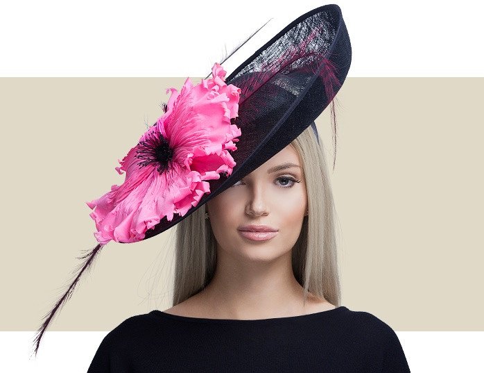 6eeea1003d57c LOTUS - Black with Lipstick Pink - Gold Coast Couture