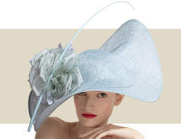 SWEEPING WAVE HAT - Atlantic Blue