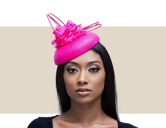 Raspberry Pink Beret Hair Fascinator   Headpiece - Buy Online 64c023a95b3