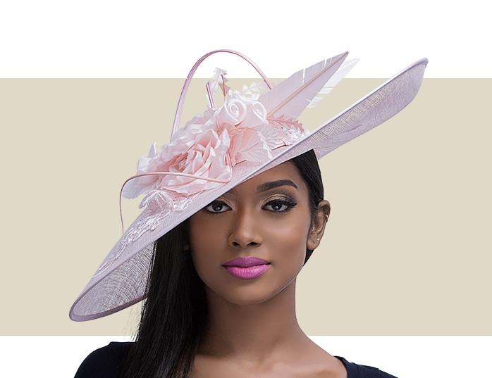 Home · Kentucky Derby Hats  VIXA - Light Pink. Image 1 04523e662b1