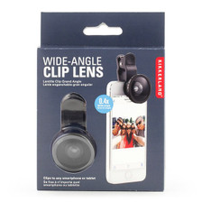 Wide Angle Clip Lens for Cell Phone Camera.
