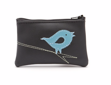 Queen Bee Chirp Coin Purse.