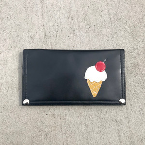 Queen Bee Maximo Ice Cream Wallet - Black