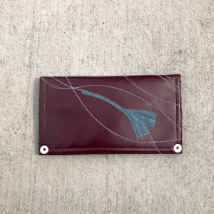 Queen Bee Maximo Ginko  Wallet - Burgundy