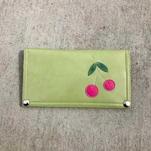 Queen Bee Maximo Cherries  Wallet - Green