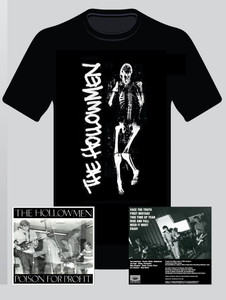The Hollowmen Bundle - Vinyl Reissue & T-shirt (Local Pick Up)