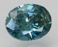 0.23 CARAT VIVID BLUE VS1 OVAL NATURAL LOOSE DIAMOND FOR RING 4.23X3.26MM *REAL IS RARE, REAL IS A DIAMOND*