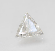 CERTIFIED 1.02 CARAT E COLOR VS2 TRIANGLE NATURAL LOOSE DIAMOND FOR RING 8.23X7.6MM  *360 VIDEO & PROFESSIONAL IMAGES